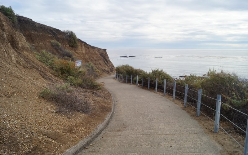 Pathway leading to the Reef Point tidepool area