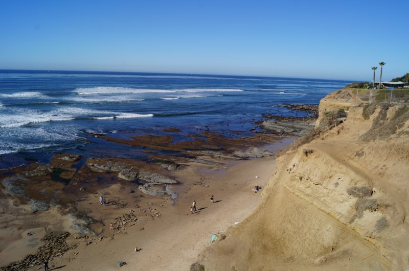 Sunset Cliffs Tidepools California Tide Pools