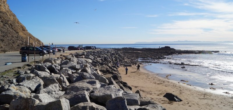 The tidepools at Whites Point
