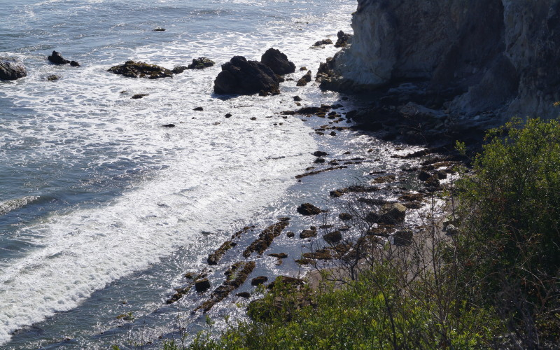 Tide Pool Area Is Located At The North End Of Beach